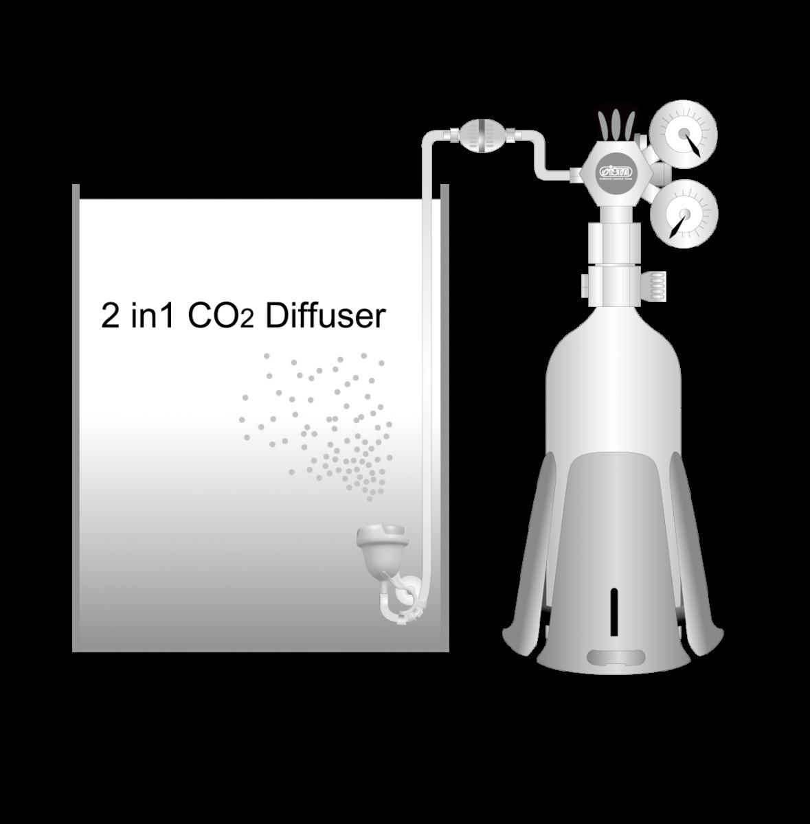 ISTA 2 in 1 CO2 Diffuser L