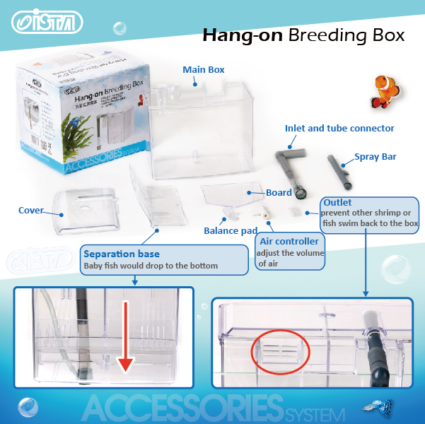 ISTA Hang-on Breeding Box 1