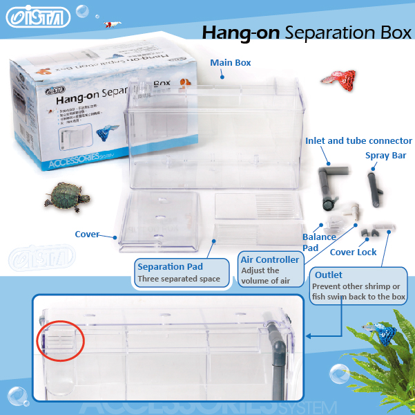 ISTA Hang-on Separation Box 2
